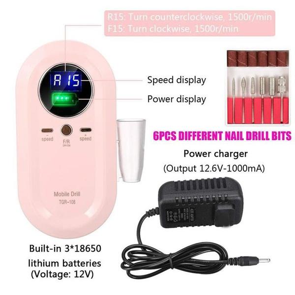 Portable nail drill picture