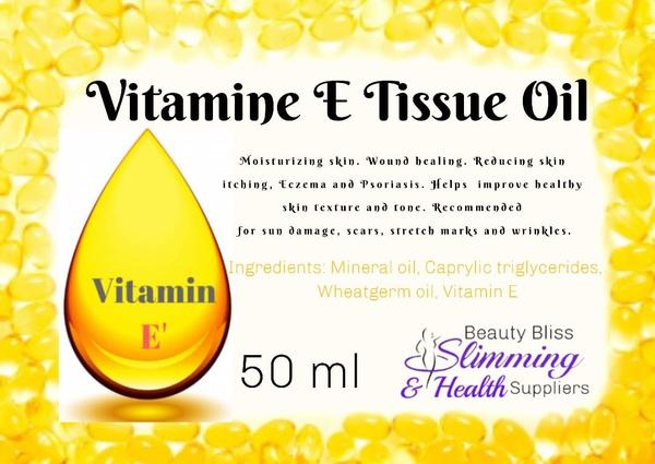 Vitamen e tissue oil 50ml picture