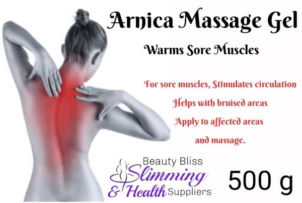 Arnica massage gel picture