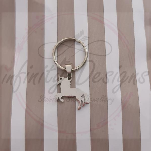 Unicorn key ring picture