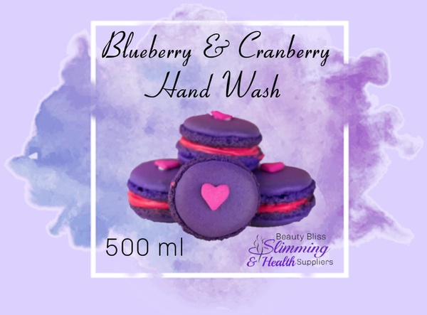 Blackberry and cranberry handwash 500ml picture