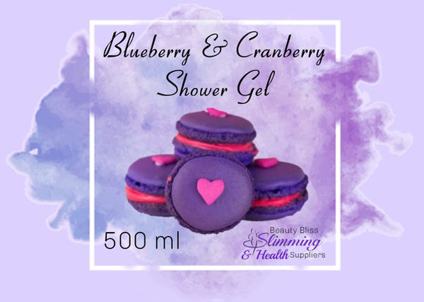 Blueberry & cranberry shower gel 500ml picture