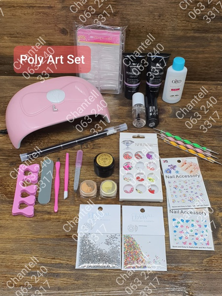 Poly art set picture