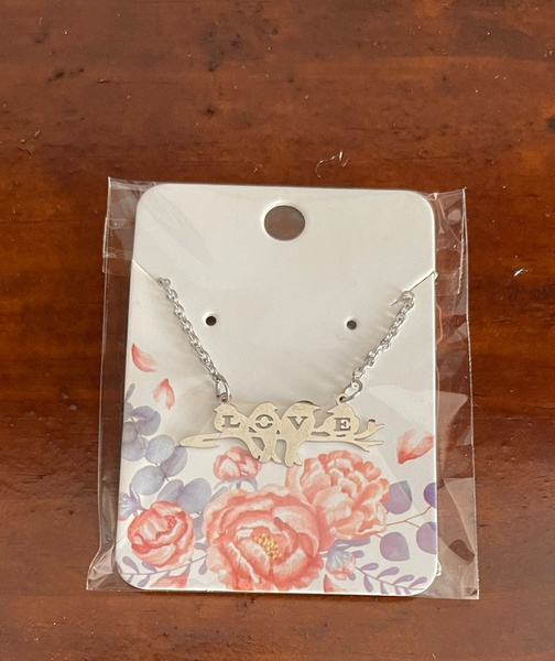 Swallow love necklace picture