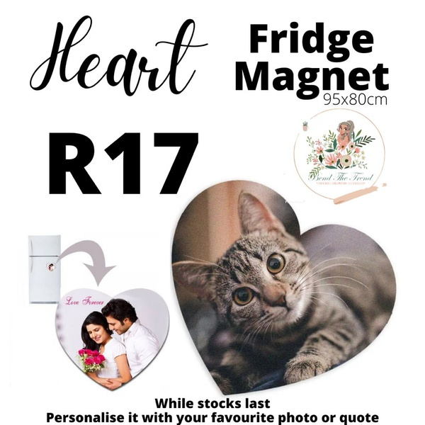 Personalized fridge magnet picture