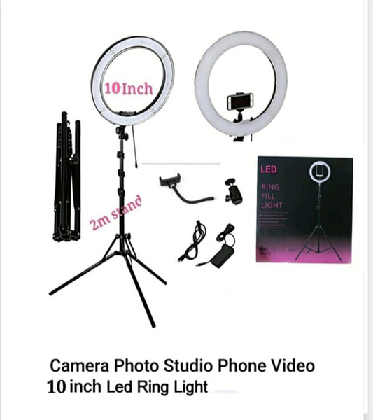 10inch ringlight with stand picture