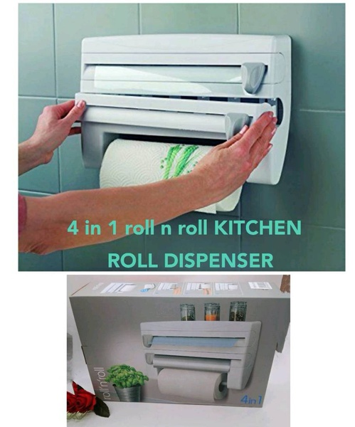 4in10roll n roll kitchen roll dispenser picture