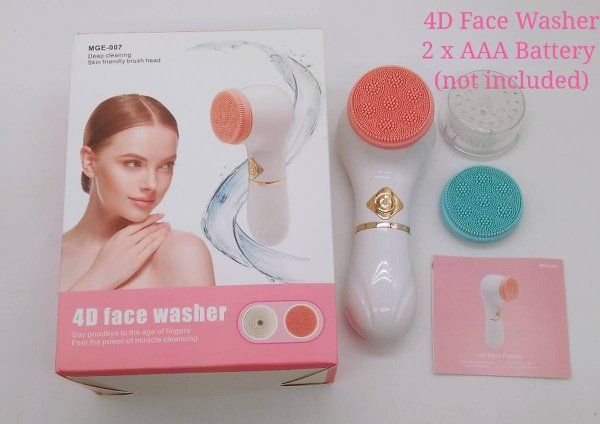 4d face washer picture