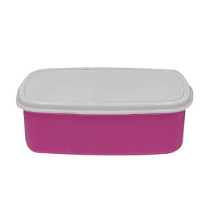Rectangular lunchbox pink picture