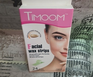Timoon facial wax strips picture