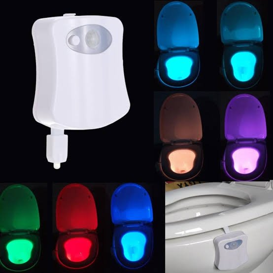 Led toilet light picture
