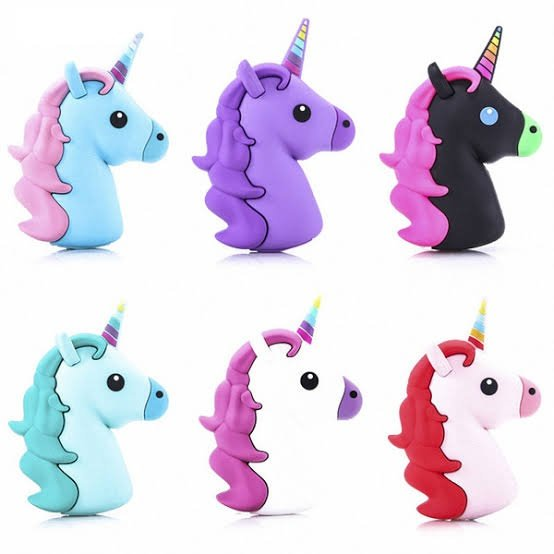 Unicorn power bank picture