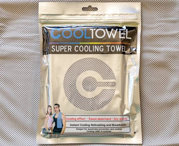 Super cooling towel white picture