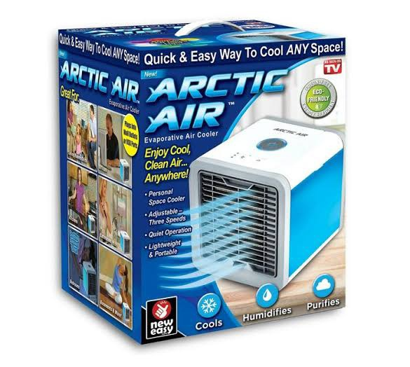 Artic mini air cooler picture