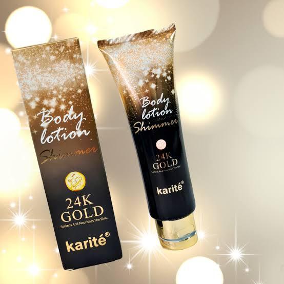 Karitè body lotion 24k gold picture