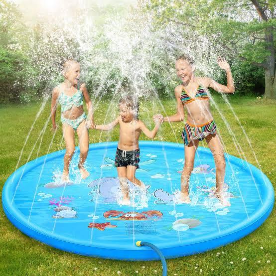 Sprinkler mat picture