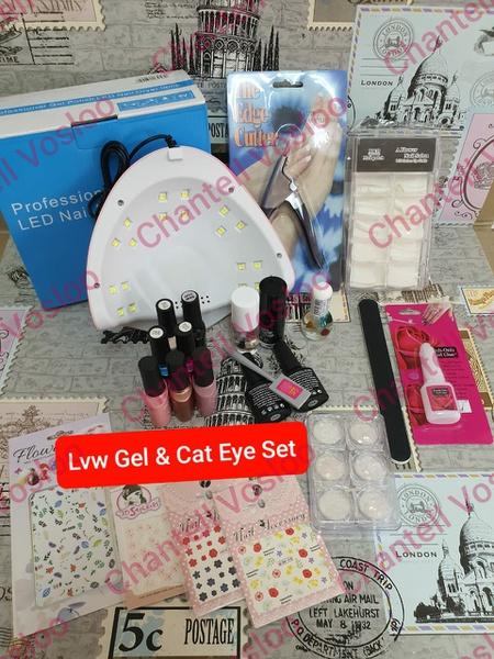 Gel & cat eye set picture