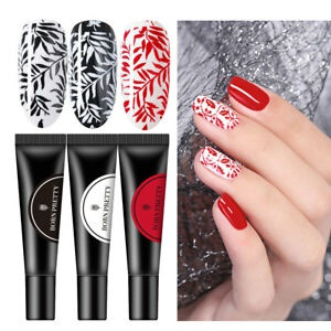 Stamping gel red picture