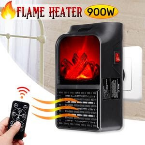 Flame heater picture