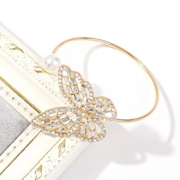 Butterfly bracelet gold picture