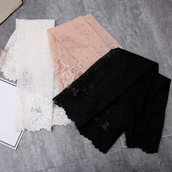 Lace sleeves sun protectors picture