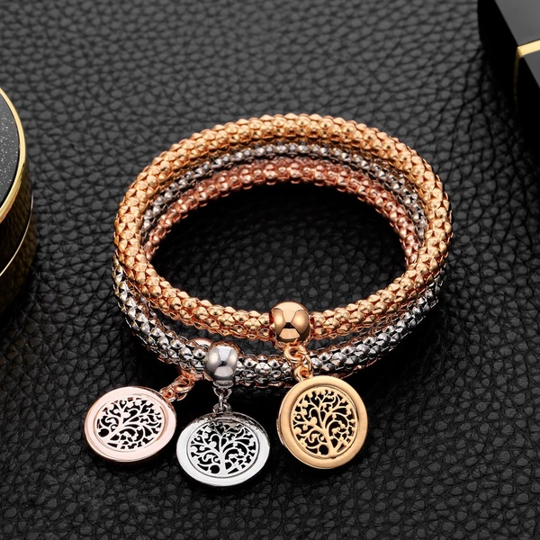 Triple bracelet tree of life picture