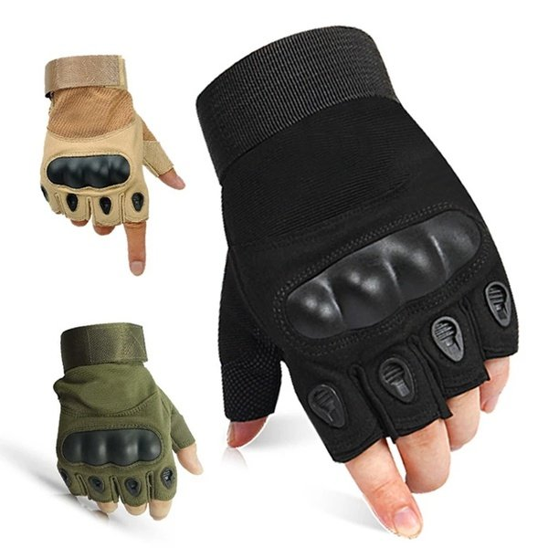 Tactical gloves black only picture