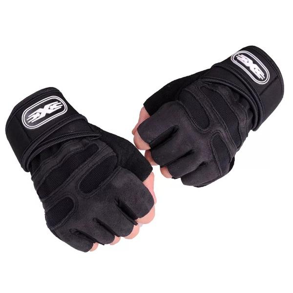 Gym gloves wrist strap type picture