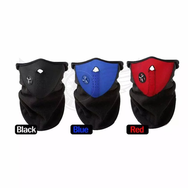 Wind mask red only picture