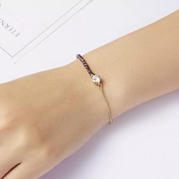 Bracelets stone and diamond picture