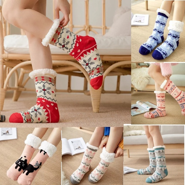 Adults and kids super warm super thick socks picture