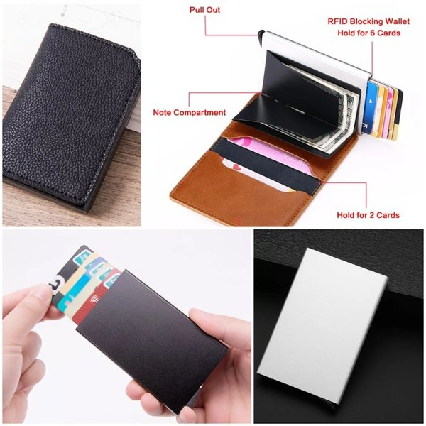 Card holder wallet picture
