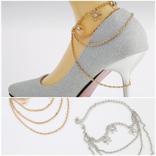 Shoe chain butterfly picture