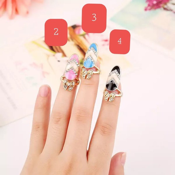 Nail rings assorted picture