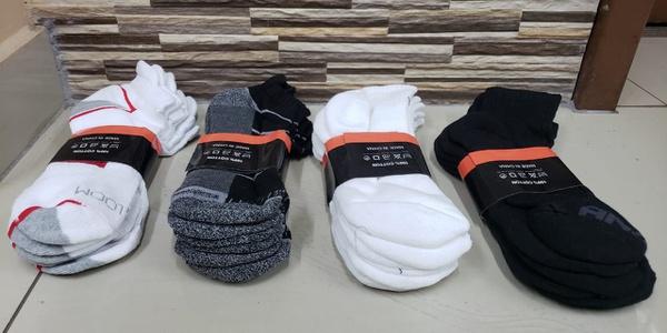 Sport socks 12 pair pack picture