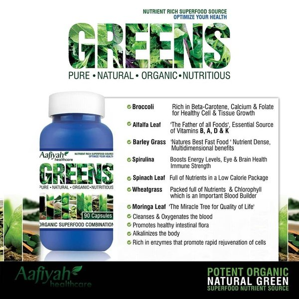 Greens 90 caps picture