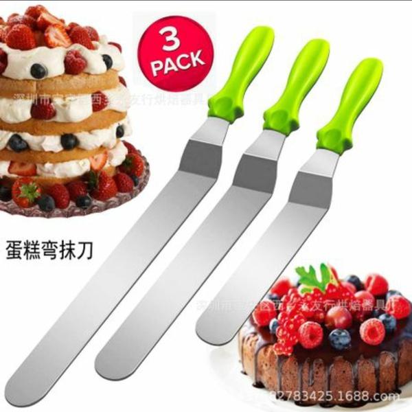 3 piece spatula set picture