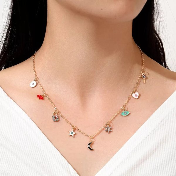 Charms necklace picture