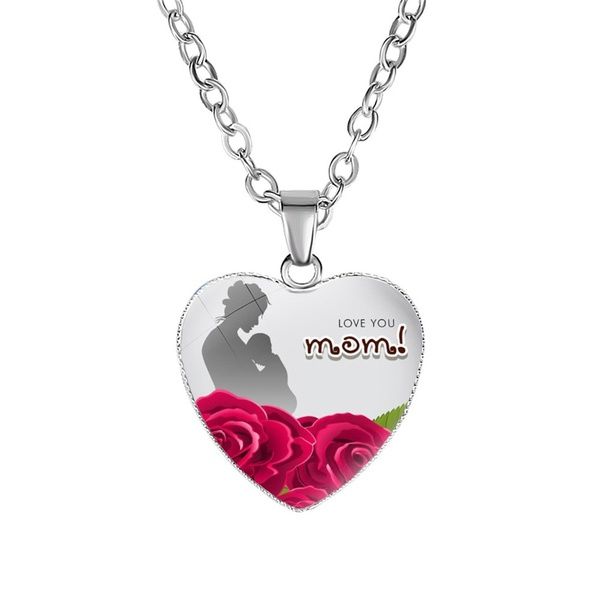 Love you mom! necklace picture