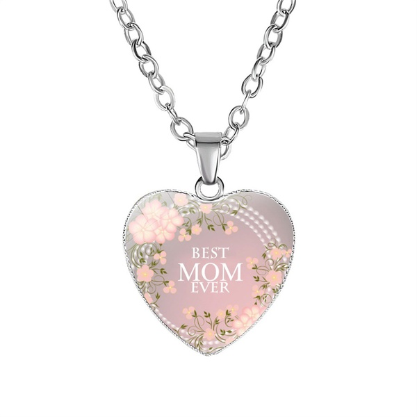 Best mom ever (pink floral) picture