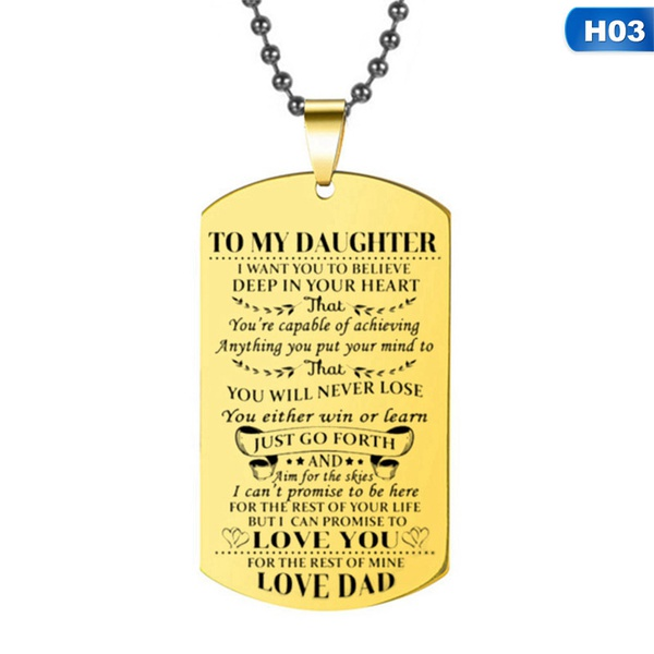 To my daughter. love, dad picture