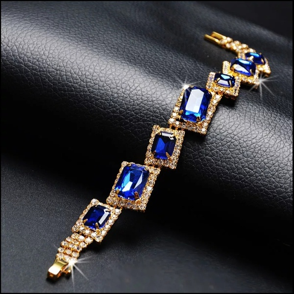 Emerald turquoise bracelet 003 picture
