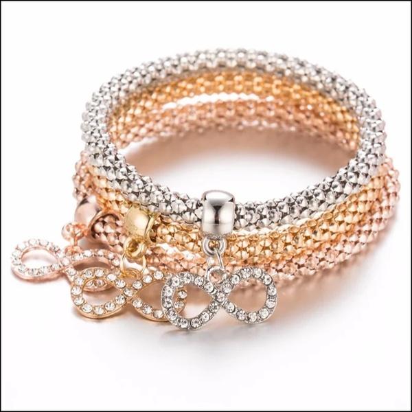 Triple bracelet infinity picture