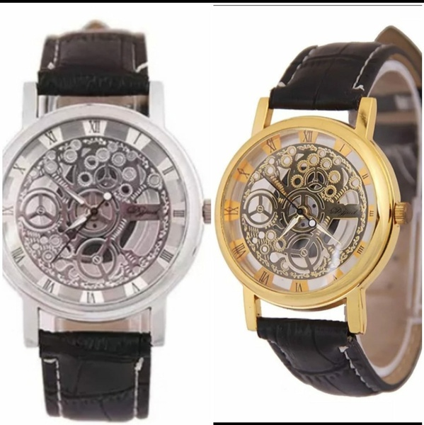 Transparent watches picture