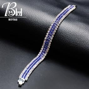 Stripe studded bracelets 902 assorted picture