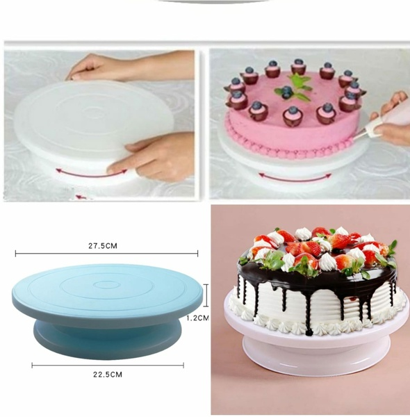Cake turntable picture