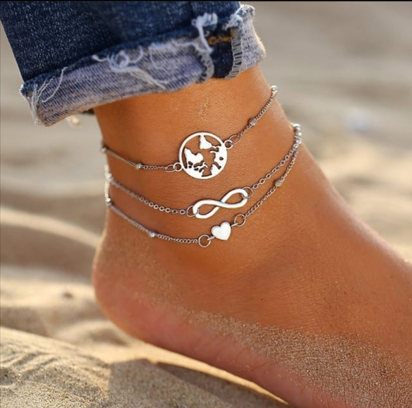 Infinity anklet picture