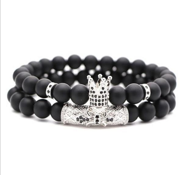 Crown bracelet set picture