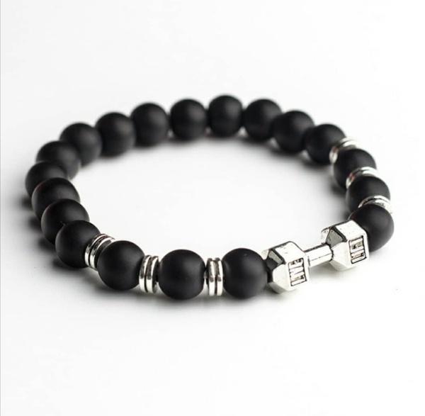 Dumbell bracelet picture