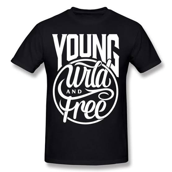 Young wild and free t-shirt picture